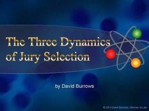 by David Burrows 2014 David Burrows Attorney at