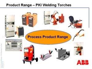 Product Range PKI Welding Torches DS Product Range