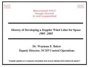 History of Developing a Doppler Wind Lidar for
