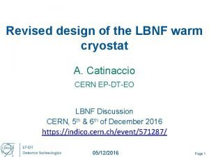 Revised design of the LBNF warm cryostat A