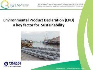 8 th European Forum on EcoInnovation Bilbao Spain