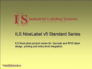 ILS Nice Label v 5 Standard Series ILS