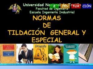 Universidad Nacional de Trujillo A CEN TUA CIN