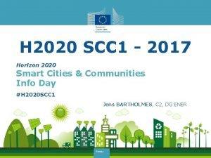 H 2020 SCC 1 2017 Horizon 2020 Smart