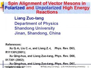 Spin Alignment of Vector Mesons in Polarized and