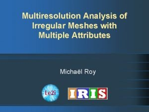 Multiresolution Analysis of Irregular Meshes with Multiple Attributes