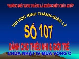 TRC NGHIM CH Tn ngi chi PHN I