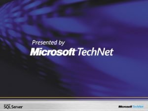 SQL Server 2005 2 Developer Evangelist Microsoft Korea