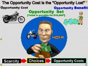 Opportunity Cost Opportunity Benefit Opportunity Set what is