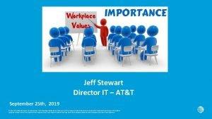 Jeff Stewart Director IT ATT September 25 th