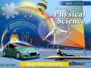 ELECTRIC CIRCUITS Chapter Twenty Electric Circuits 20 1