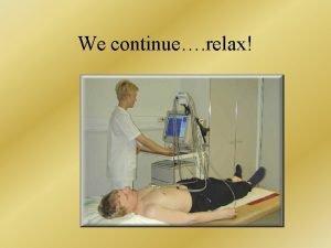 We continue relax ST segment ST segment changes