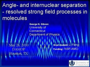 Angle and internuclear separation resolved strong field processes