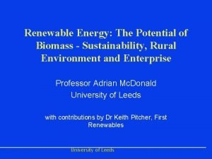 Renewable Energy The Potential of Biomass Sustainability Rural