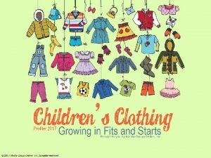 Stagnation in the Childrens Department US childrens clothing