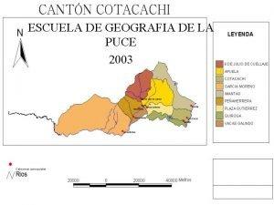ESCUELA DE GEOGRAFIA DE LA PUCE 2003 ANTECEDENTES