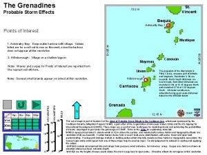 The Grenadines St Vincent 13 2 N Probable
