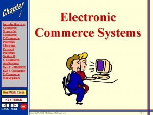 Introduction to e Commerce Scope of e Commerce