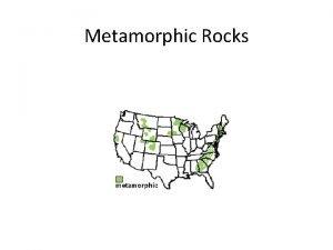Metamorphic Rocks Word Connections Metamorphic Meta change Morphchange