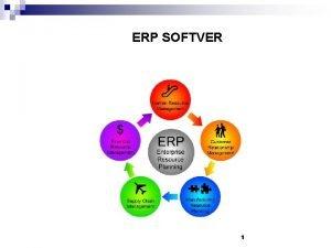 ERP SOFTVER 1 Pojam ERP softvera n ERP