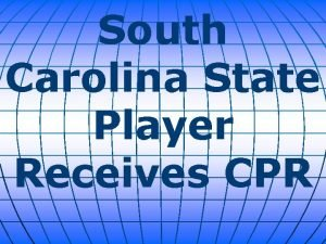 South Carolina State Player Receives CPR A South