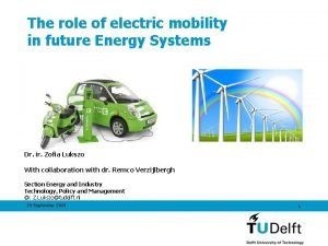The role of electric mobility in future Energy