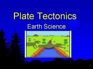 Plate Tectonics Earth Science 1 What is Plate
