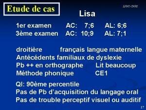 Etude de cas 1 er examen 3me examen