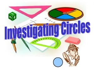 radius diameter Circle A closed curved with all