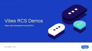 Vibes RCS Demos Vibes Labs Development around RCS