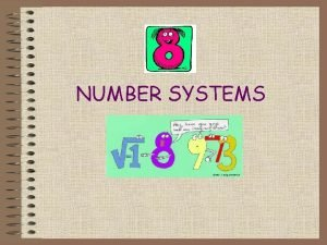 NUMBER SYSTEMS REAL NUMBERS as opposed to fake
