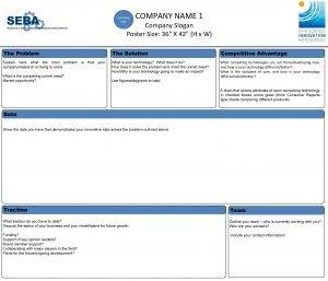 Company Logo COMPANY NAME 1 Company Slogan Poster