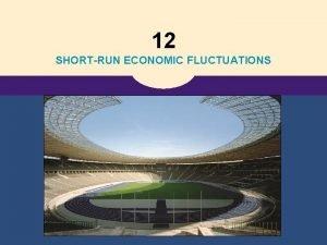 12 SHORTRUN ECONOMIC FLUCTUATIONS Aggregate Demand Aggregate Supply
