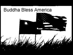 Buddha Bless America Background Theory Tiffany Huang Background