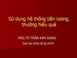 S dng h thng tin lng thng hiu