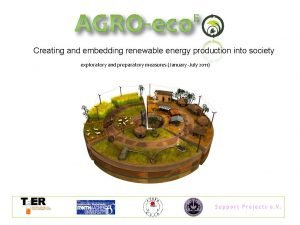 Creating and embedding renewable energy production into society