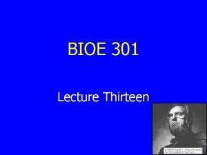 BIOE 301 Lecture Thirteen HIVAIDS Vaccine Update HIVAIDS