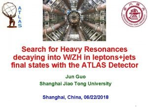 Search for Heavy Resonances decaying into WZH in