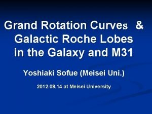 Grand Rotation Curve Galactic Roche Lobes in the