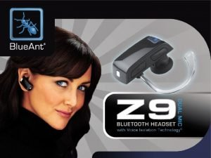 Blue Ant Z 9 Bluetooth Headset The Award
