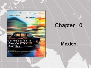 Chapter 10 Mexico Sovereignty Authority and Power Sources