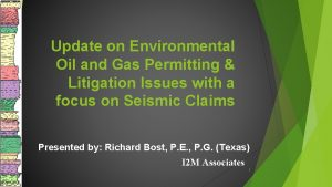 Update on Environmental Oil and Gas Permitting Litigation