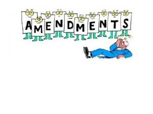 Process for Amending the US Constitution 27 so
