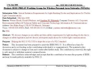 17 th July 2008 doc IEEE 802 15