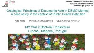 Federal University of Minas Gerais School of Information