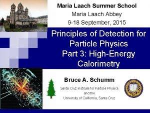 Maria Laach Summer School Maria Laach Abbey 9