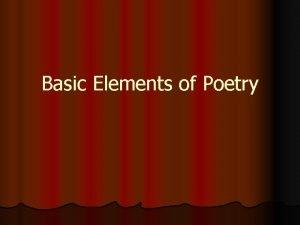 Basic Elements of Poetry Flashcards Acrostic poem Alliteration