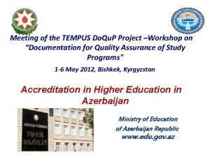Meeting of the TEMPUS Do Qu P Project