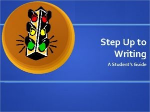 Step Up to Writing A Students Guide Expository