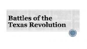 Who Texan colonists fighting the Mexican Army When